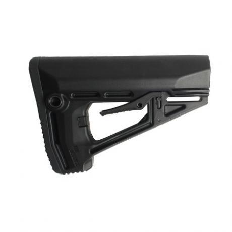 IMI-Z0409 - Taktická pažba pro M16/AR15/M4 s gumovou botkou černá