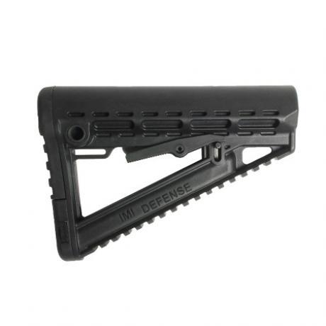 IMI-Z0008 - Taktická IMI Delta pažba pro M16/AR15/M4 černá