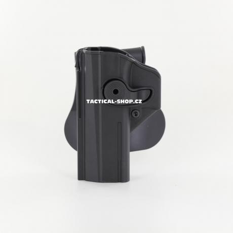IMI-Z1450LH - IMI Defense pouzdro s pojistkou pro CZ Shadow 2, CZ P-09 pro leváky černé