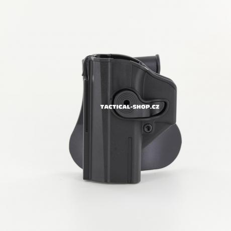 IMI-Z1460LH - IMI Defense pouzdro s pojistkou pro CZ P-07 pro leváka černé