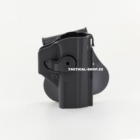 IMI-Z1460 - IMI Defense pouzdro s pojistkou pro CZ P-07 černé