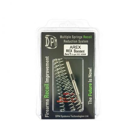 MS-AREX/1 - Vratná pružina DPM Systems s redukcí zpětného rázu pro AREX REX Zero 1 Standard Size (9mm Luger / 9x21 mm / .40 S&W)