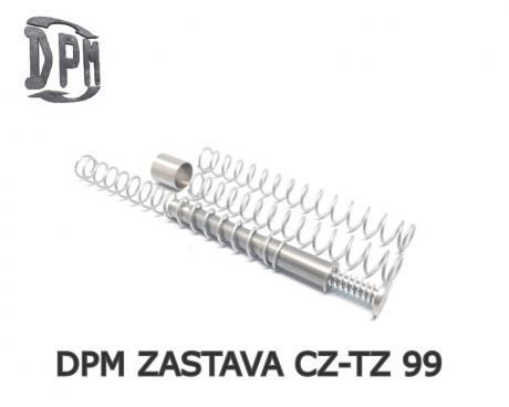 MS-ZA/1 - Vratná pružina DPM Systems s redukcí zpětného rázu pro ZASTAVA CZ-TZ 99 (9mm / 40s&w)