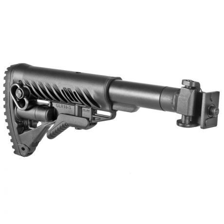 M4-VZ - Sklopná pažba pro SA-58 typ M16 s kovovým kloubem pro SA-58 - černá