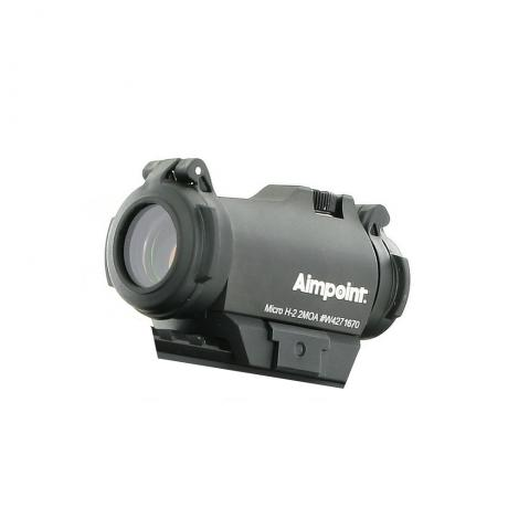 MicroH2-2 - Aimpoint Kolimátor Aimpoint Micro H2, 2 MOA Red Dot