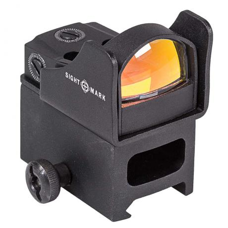 SM26006 - Kolimátor Mini Shot Pro Spec s extra montáží navíc - červená tečka