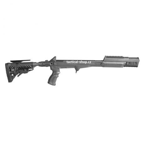 M4-SKS SB CP - Modernizační set pro SKS - M4 pažba s absorberem a lícnicí - černý