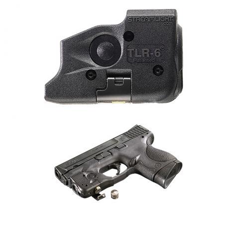 SML69290 - Streamlight TLR-6 pro Glock 17,19,21,22,23,29,35, 100 lm, červený laser