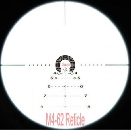 Apophis M4-62 - Puškohled Apophis 1-6x28 Tactical