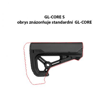 GL-CORE S - Samostatná pažba GL-CORE S kompaktnějších rozměrů - černá