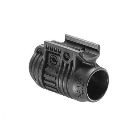PLA 1 - Držák na svítilnu 1 palec černý