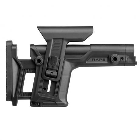 RAPS - Sniper pažba s inovovanou lícnicí pro AR-15 - černá