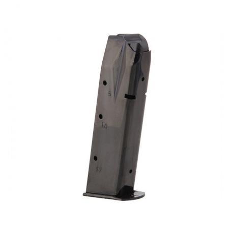 SG-Z-P226-K - Originální zásobník pro Sig Sauer P226 9mm Ruger 17 ran s kovovou botkou