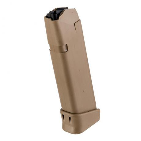 33834 - Originální zásobník Glock 19X s botkou +2, 19 ran, 9 mm Luger