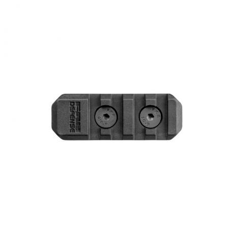 MA-2 - Polymerový adaptér M-LOK to Picattiny 4 sloty - černý
