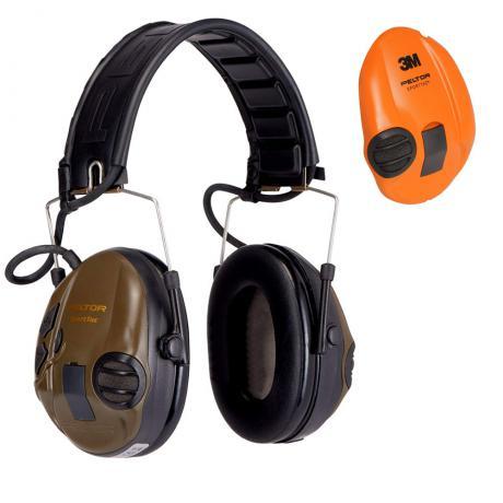 XH001650049 - Elektronická sluchátka Peltor SportTac Zelená/Oranžová