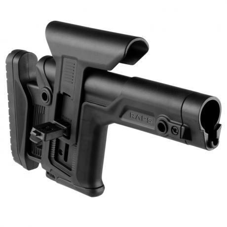 BRZ-RAPS - Sniper pažba pro AR-15 (mil-spec) - černá - stav 99%