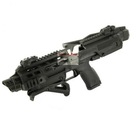 KIDON FS pro CZ P-10 - Konverze KIDON pro pistole CZ P-10 C, CZ P-10 F se sklopnou pažbou - černá