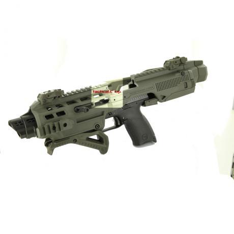 KIDON FS pro CZ P-10 - Konverze KIDON pro pistole CZ P-10 C, CZ P-10 F se sklopnou pažbou - zelená