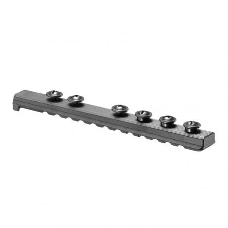 UPR16/4 - Polymerový Picatinny rail pro M16/M4 černý