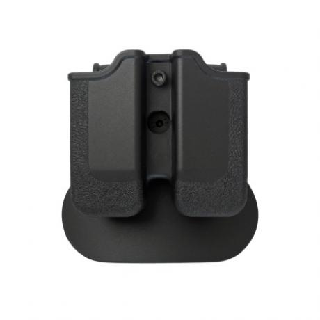 IMI-Z2040 - MP04 - polymerové pouzdro IMI Defense na 2 zásobníky (Beretta PX4, HK P30, Ruger, Steyr, SW, Taurus) - černé