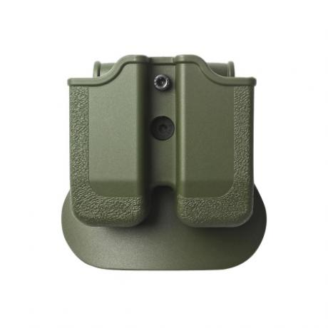 IMI-Z2030 - MP03 - polymerové pouzdro IMI Defense na 2 zásobníky (Beretta, Browning, Colt, CZ, EAA, Keltec, Magnum, SW, Sig, Taurus, Walther) - zelené