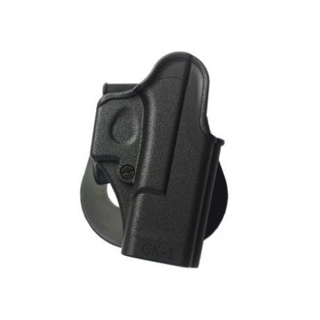 IMI-Z8010 - GK1 - Jednodílné pouzdro IMI Defense pro Glock 17/19 pro praváka - černé