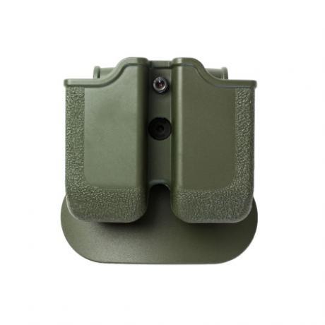 IMI-Z2050 - MP05 - polymerové pouzdro IMI Defense na 2 dvouřadé  zásobníky .45 (Sig, Taurus, HK, 1911) zelené