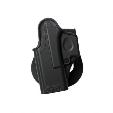 IMI-Z8010L - GK1 - Jednodílné pouzdro IMI Defense pro Glock 17/19 pro leváka - černé