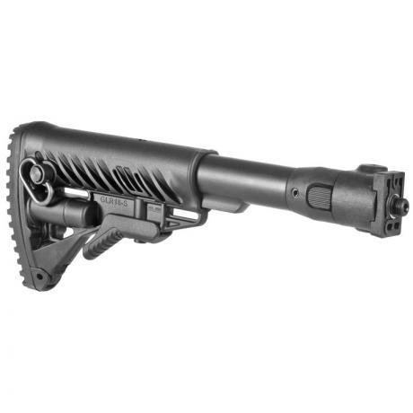 M4-VZP - Sklopná pažba pro SA-58 typ M16 s polymerovým kloubem černá