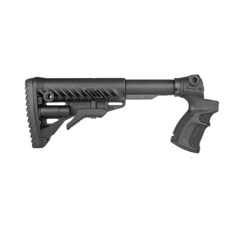 AGM-500 FK - Teleskopická pevná pažba s pistolovou rukojetí pro Mossberg 500 černá