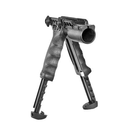 T-POD G2 FA - Dvojnožka T-POD G2 s integrovaným držákem na svítilnu černá
