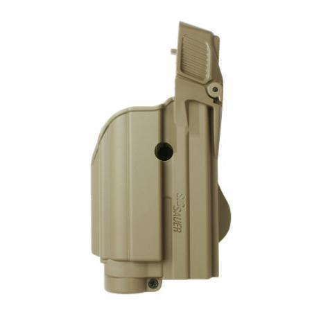IMI-Z1500-TLH - Level 2 pouzdro na pistoli a svítilnu (laser) pro Sig P250 Compact,P250 FS,227,P220, P226, Sig Pro2022,MK25,P320 9mm - pískové