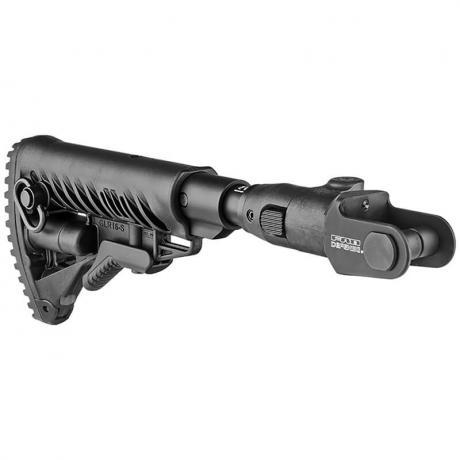 M4-AKMS P SB - Sklopná teleskopická pažba s absorberem pro AKMS - černá