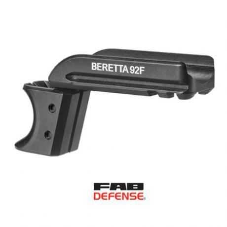 BR92PR - Přídavný rail pro Beretta 92