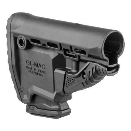 GL-MAG - Samostatná pažba GL-MAG s 10r zásobníkem pro M4/M16/AR15 černá